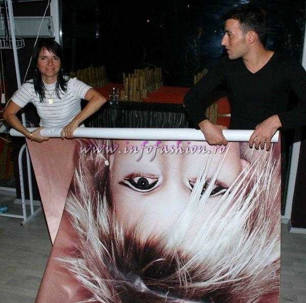 Cosmetica_&_Hair Geta Voinea Salon Who`sWho_VP coafura la Model of the World Romania 2004, Bamboo Infofashion Platinum Agency Romania