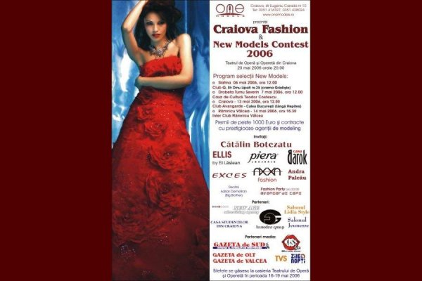Selectii_One Models 2006 va invita la New Models Contest Romania