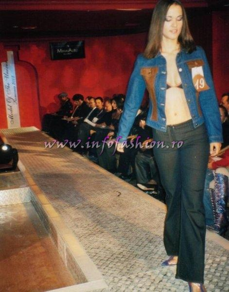 Stela_Samira Socaci la Model of the Universe Romania 2002 Bucuresti Platinum Ag. InfoFashion