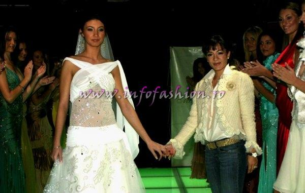 M_&_ Designeri Oana Mizil, Colectia rochii de seara si mireasa la Model of the World Romania 2005 (InfoFashion Platinum Ag)
