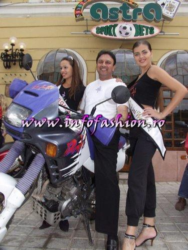 Moto 2003-Romania Caravana Miss Tourism Europe (Bull Bikers Brasov)