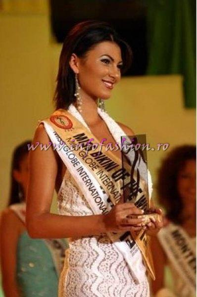 The_Miss Globe 2005 Andreea Alina Cojocaru Miss Bikini Winner in Albania org. in Romania InfoFashion.RO