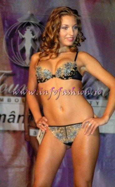 PIERA Lenjerie, Costume baie 2005 la Miss Tourism Beauty Festival Valea Prahovei Romania Infofashion Platinum Agency Lingerie