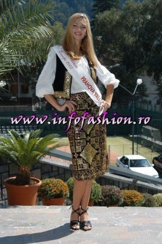 Madalina_Draghici 2003 a reprezentat Valea Prahovei la Miss Tourism Europe in Romania /Infofashion Platinum Ag M_177CM