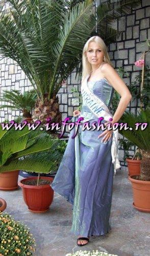 Ukraine- Yuliya Semaniva at Miss Tourism Europe 2003 in Romania /Infofashion Platinum Ag.