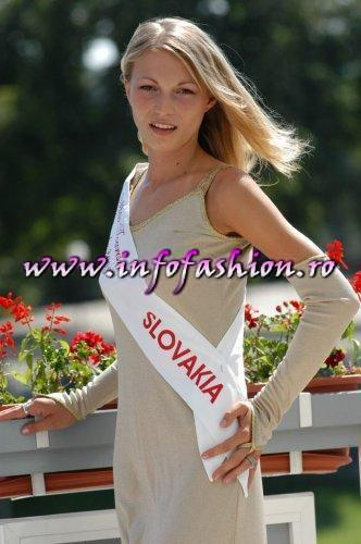 Slovakia Rep- Eva Kamenova at Miss Tourism Europe 2003 in Romania /Infofashion Platinum Ag.