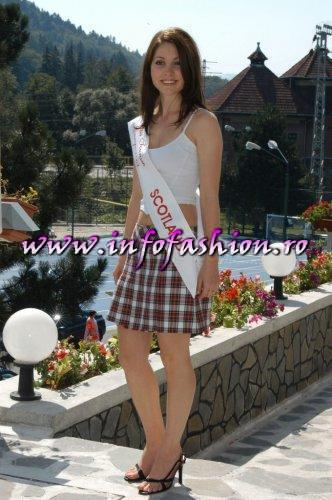 Scotland Gemma Passey at Miss Tourism Europe 2003 in Romania /Infofashion Platinum Ag.