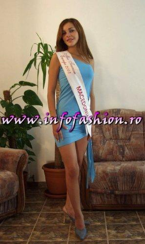 Photo shooting at Miss Tourism Europe-2003 la Hotel Alexandros Romania-Prahova Valley-Busteni