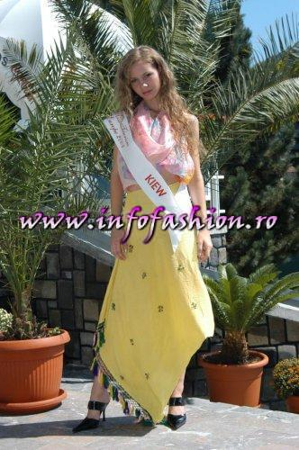 Ukraine- Kiev Alina Garbuz at Miss Tourism Europe 2003 in Romania /Infofashion Platinum Ag.