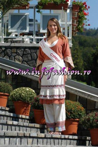Cyprus- Anca Moraru at Miss Tourism Europe 2003 in Romania /Infofashion Platinum Ag.