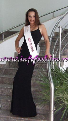Bulgaria- Dimka Drumeva Miss Photogenic at Miss Tourism Europe 2003 in Romania /Infofashion Platinum Ag.
