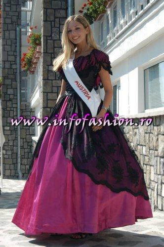 Austria Delila Zoellner at Miss Tourism Europe 2003 in Romania /Infofashion Platinum Ag.
