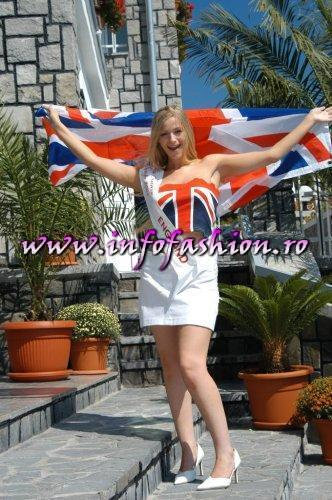 England Margarita Mitchel Pollock at Miss Tourism Europe 2003 in Romania /Infofashion Platinum Ag.