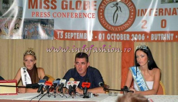 2006-Miss Globe International-33th Edition (for the 3rd time) in Albania