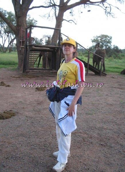 2005 The people behind of stage Photos at Miss Tourism World Zimbabwe Victoria Falls