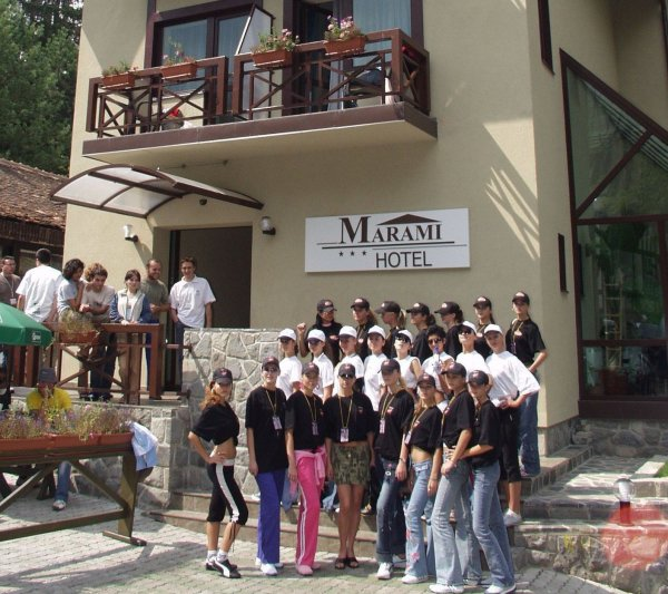 Hoteluri Marami Sinaia gazda deosebita pt. Miss Beauty and Fashion Festival 2005 Valea Prahovei Infofashion Platinum Agency