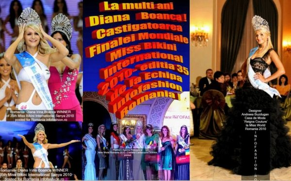 Diana_Irina Boanca Winner MBI (Black Dress by Deea Buzdugan) in MW Romania Festival Spirit of Beauty 2010