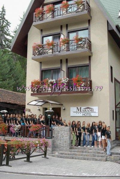 2006-Hotel Marami Sinaia, gazda pentru Finala Miss Tourism World National Final in Romania (Festival Valea Prahovei 27 AUG-03 SEP).