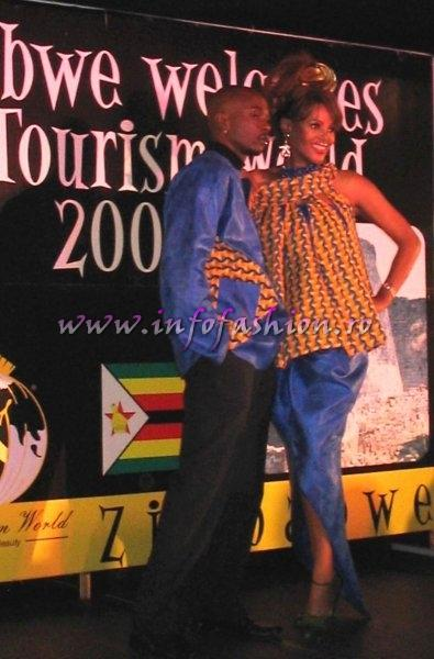 2005-Press Conference with Tourism Secretary, Francis Nhema, Officials & Contestants at Miss Tourism World in Zimbabwe