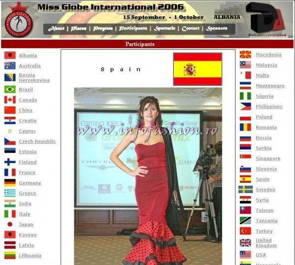 Spain_2006 Marian Karin Cabrera a castigat locul 2 la Miss Globe International editia 33 in Albania- FINALA 1 OCT. Diana Nica-Romania s-a clasat in TOP 20!