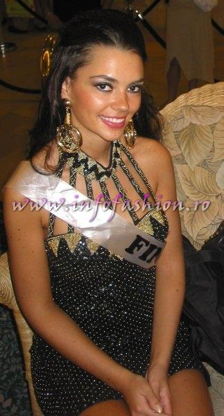 Finland- Anna Pohtimo at Miss Intercontinental 2006 Bahamas