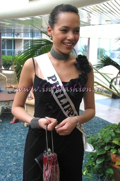 Philippines- Kirby Ann Basken at Miss Intercontinental 2006 Bahamas