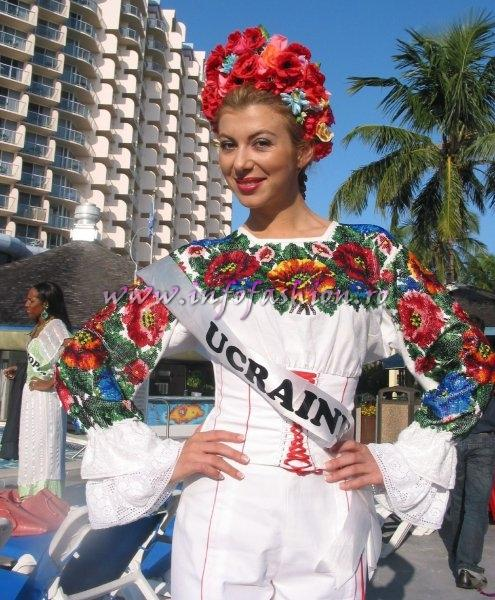 Ucraine- Maryna Gorobets at Miss Intercontinental 2006 Bahamas
