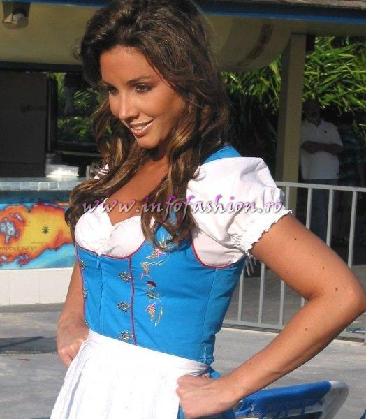 Germany_2006 Nathalie Ackermann at Miss Intercontinental in Bahamas