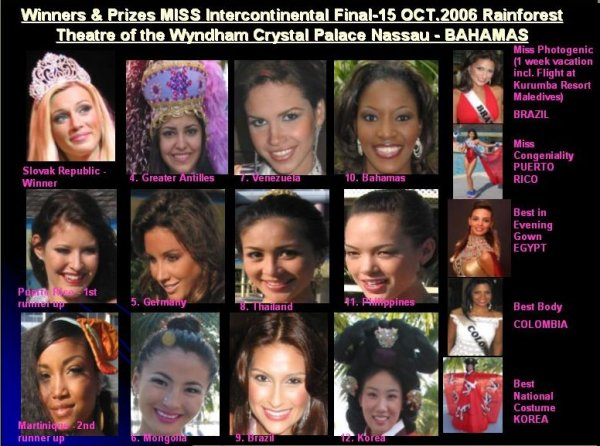2006-OCT-8-15-Miss Intercontinental editia 35 BAHAMAS. ROXANA CURELEA, ROMANIA IN TOP 15!!