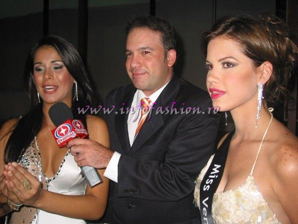 Miss Intercontinental 2005, Emmarys Pinto, Venezuela at the end of her reign and Miss Venezuela at Miss Intercontinental Bahamas 2006