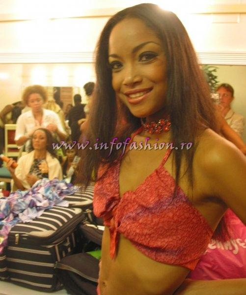 Preparations before the Final Show Miss Intercontinental Nassau-BAHAMAS 2006