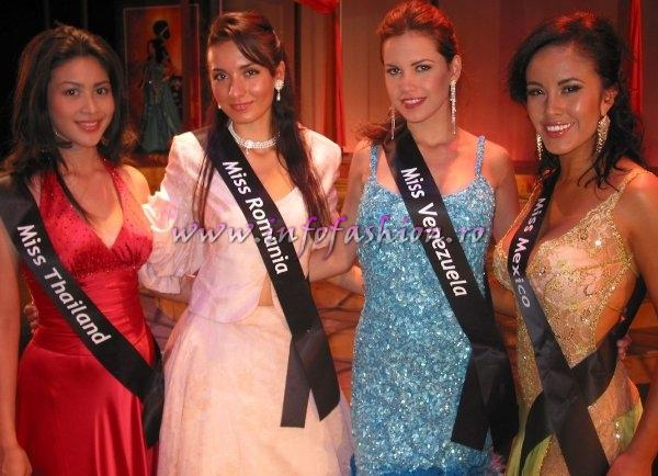 Best in Evening Gown at Miss Intercontinental 2006 Rainforest Theatre Crystal Palace Casino BAHAMAS