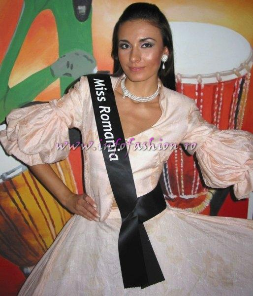 Roxana Curelea at Miss Intercontinental 2006 (Photo Oana Georgescu)