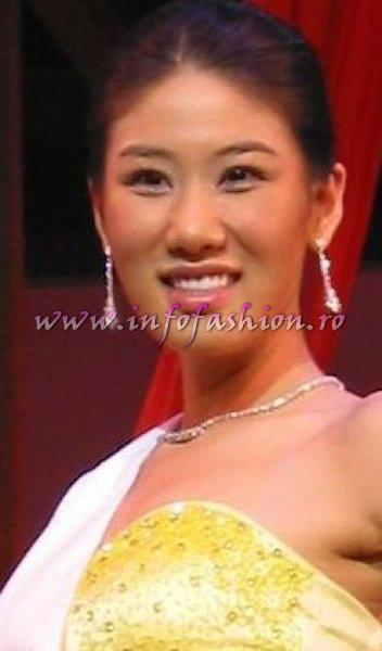 Korea_2006 Song Ilyoung at Miss Intercontinental in Bahamas