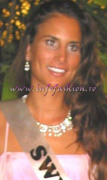 Switzerland_2006 Corinne Aepli at Miss Intercontinental in Bahamas