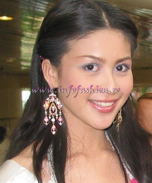 Thailand_2006 Nusara Suknamai at Miss Intercontinental in Bahamas