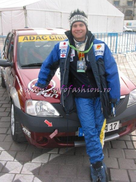 Pilotul Claudiu David vicecampion national rally 2006