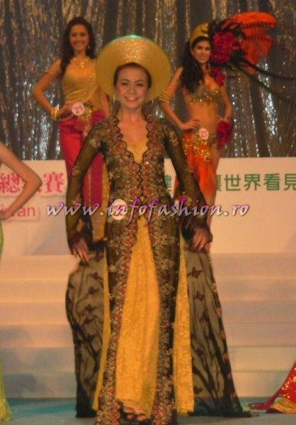 Vietnam- Nguyen Ai Chau at Final Miss Young International in Taiwan OCT. 2007