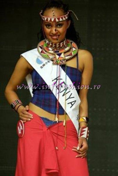 Kenya- Catherine Wainaina at Beauty of the World China 2007