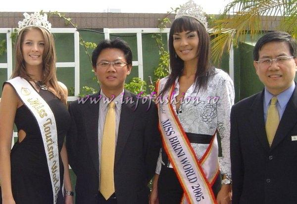 Alina_Ciorogariu Winner Miss Tourism World 2003 in Venezuela, guest in Taiwan ROC 2006
