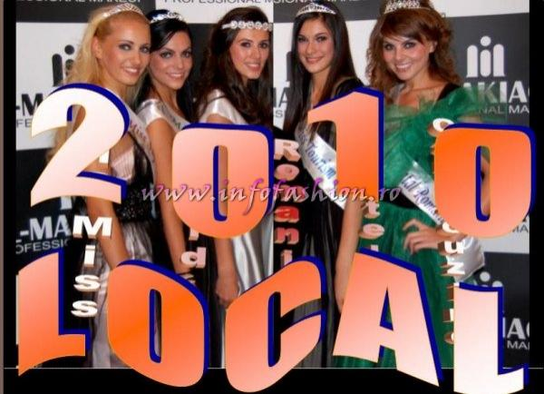 2010 Local Events Designers Fashion Show, Modeling, Miss National Beauty Pageant by Infofashion Platinum Agency Romania