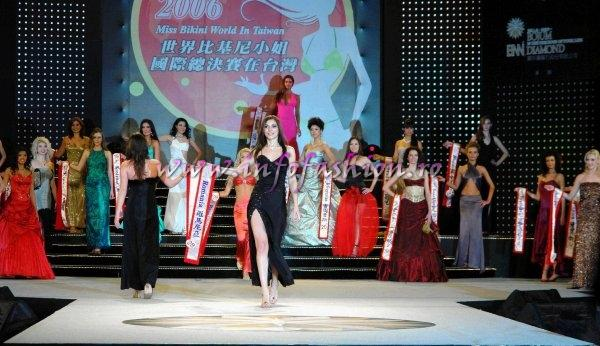 MTW 2006 Taiwan Evening Gown / Rochii seara at Miss Bikini World