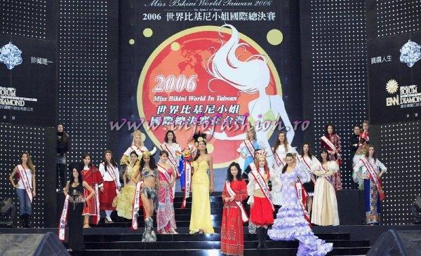 National Costume at Miss Bikini World 2006 in Taiwan