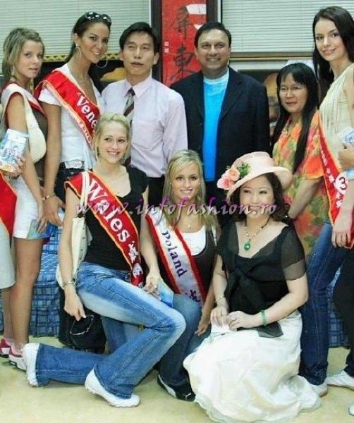 Venezuela-Rossangel Hernandez at Miss Bikini World 2006 in Taiwan