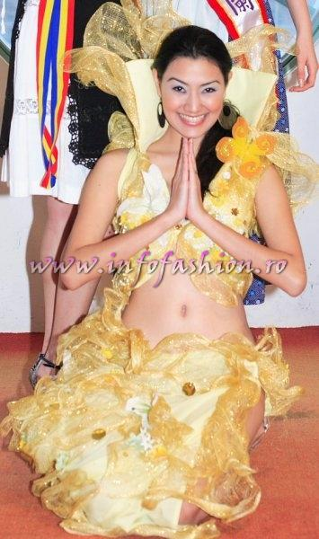 Philippines_2006 Pauline Garrison, 3rd Runner up at Miss Bikini World in Taiwan