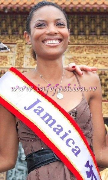 Jamaica_2006 Rashima Hemmings at Miss Bikini World in Taiwan