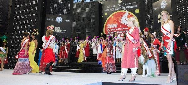 Cyprus at Miss Bikini World 2006 in Taiwan