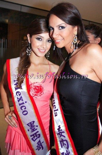 Mexico-Priscila Trejo at Miss Bikini World 2006 in Taiwan