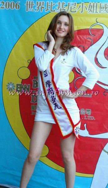 Rep. Moldova- Diana Soitu la Miss Bikini World 2006 in Taiwan