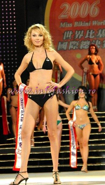 Slovakia_2006 Katarina Moncekova at Miss Bikini World in Taiwan